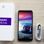 Unboxing the Huawei Nova 2 Lite smartphone.