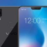 Behold the screen cutout of the Vivo V9.
