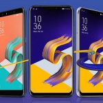 The ASUS Zenfone 5Q, 5 and 5Z.