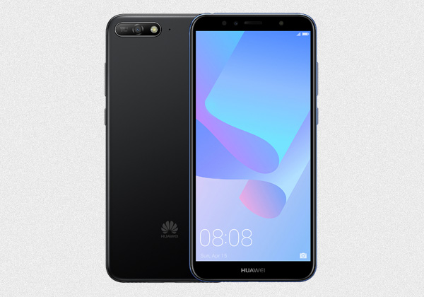 The Huawei Y6 2018 is available in black and blue color options.