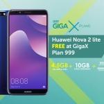Huawei Nova 2 Lite Smart GigaX Plan...