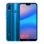 The Huawei P20 Lite smartphone in blue.