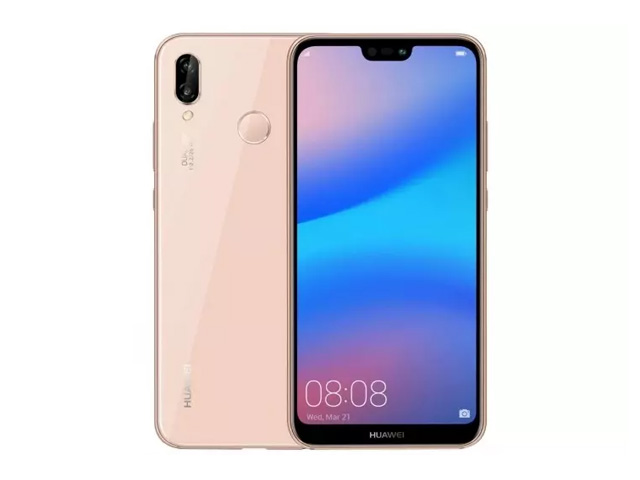 The Huawei P20 lite in pink.