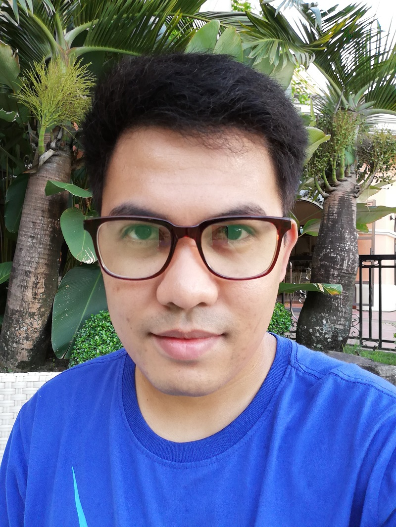 Huawei P20 Lite sample selfie.