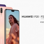 The Huawei P20 series of smartphones.