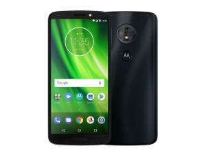 The Motorola Moto G6 Play smartphone.