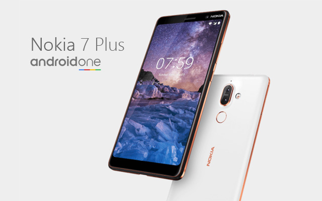 Meet the Nokia 7 Plus smartphone!