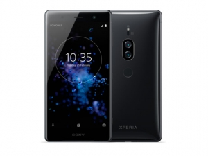 The Sony Xperia XZ2 Premium smartphone.
