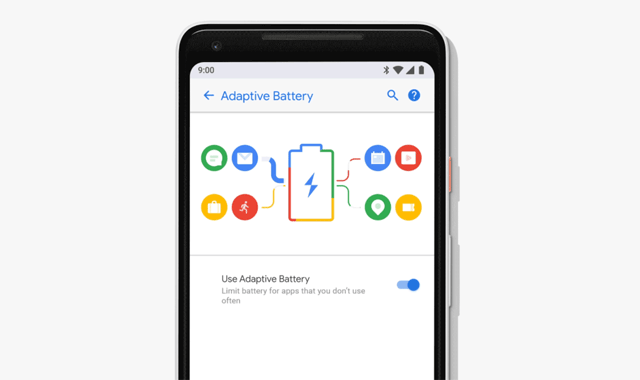 Adaptive Battery on Android P.