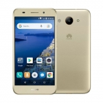 The Huawei Y3 2018 smartphone in gold.