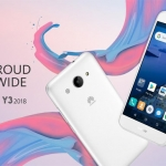 Meet the Huawei Y3 2018 with Android Oreo (Go Edition) OS!