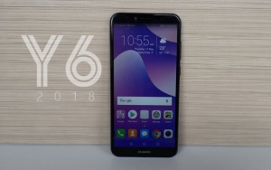 We review the Huawei Y6 2018 smartphone!