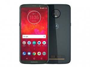 The Motorola Moto Z3 Play smartphone.
