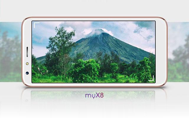 MyPhone myX8 teaser image.