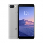 The Xiaomi Redmi 6A smartphone in gray.