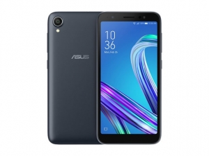 The ASUS Zenfone Live L1 smartphone in black.