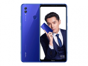 The Honor Note 10 in blue.
