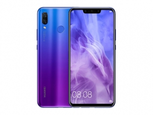 The Huawei Nova 3 smartphone in purple.