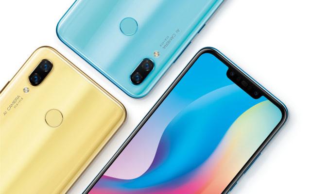 Huawei Nova 3 teaser.