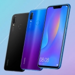 The Huawei Nova 3i in black and iris purple colors.