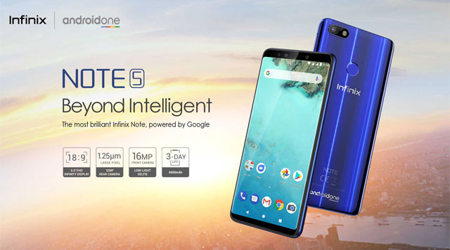 Meet the Infinix Note 5 smartphone!