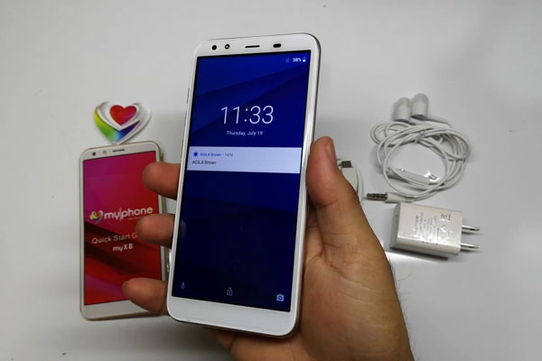 Unboxing the MyPhone myX8 smartphone!