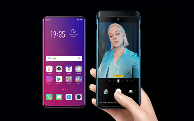 The OPPO Find X smartphone!