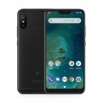 The Xiaomi Mi A2 Lite smartphone in black.