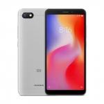 The Xiaomi Redmi 6A smartphone in gray.