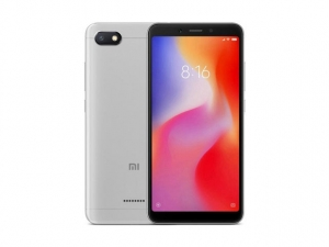 The Xiaomi Redmi 6A (32GB) smartphone in gray.