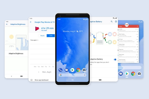 Android 9 Pie features.
