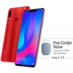 Huawei Nova 3 Pre-order Promo Available from August 4 to 10, 2018