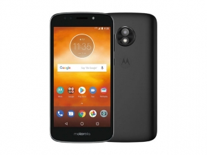 The Motorola Moto E5 Play smartphone.