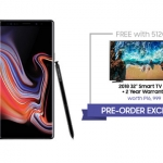 "Samsung Galaxy Note 9 comes with a FREE 32"" TV!"