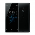 The Sony Xperia XZ3 smartphone in black.