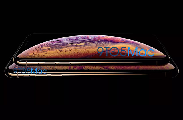 Leaked image of the iPhone XS.