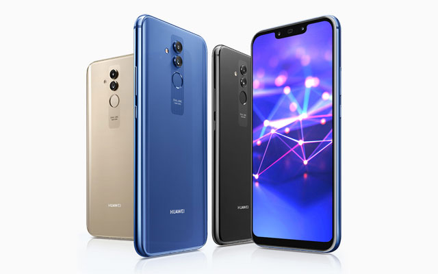 Meet the Huawei Mate 20 Lite smartphone!