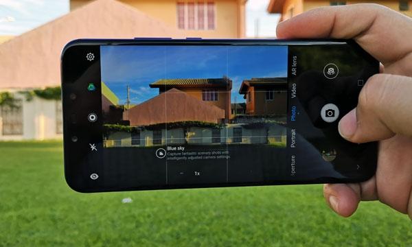 Huawei Nova 3 camera app