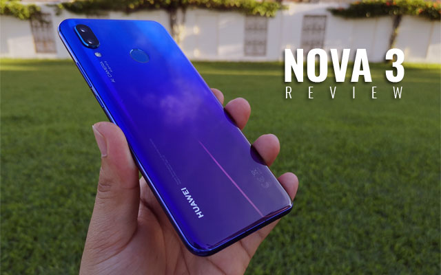 Hands review of the Huawei Nova 3 smartphone!
