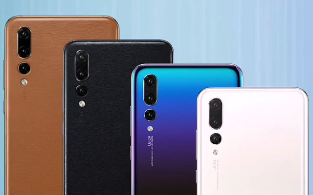 New colors of the Huawei P20 series.