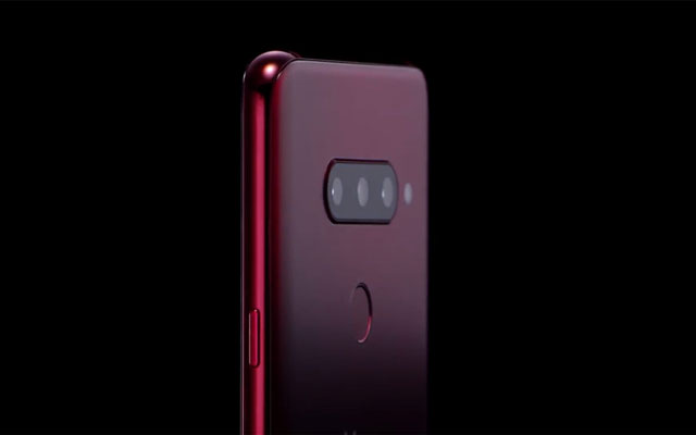 The LG V40 ThnQ has three cameras at the back and two cameras on the front.