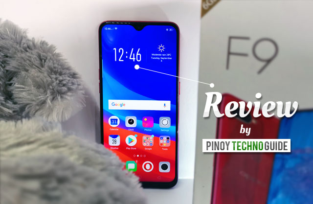 Let's review the OPPO F9 smartphone!