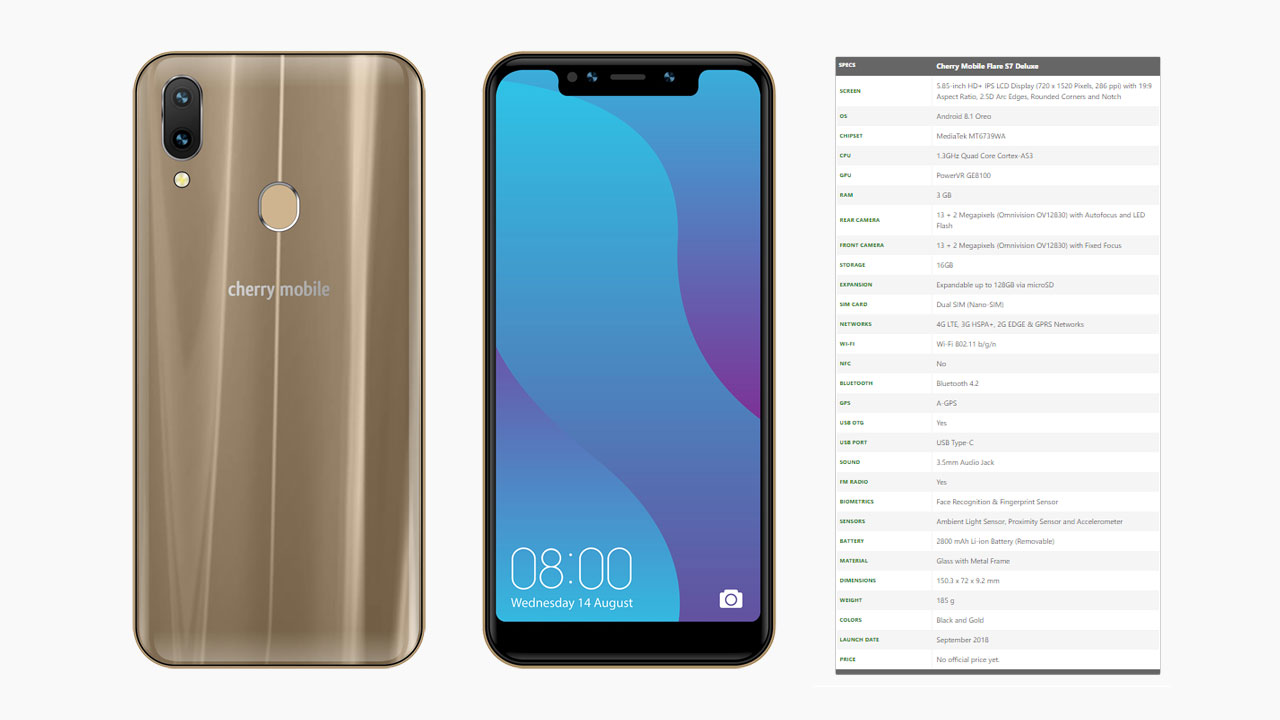 Cherry Mobile Flare S7 Deluxe Specs Price And Features