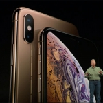 Apple senior VP Philip Schiller unveils the iPhone Xs and iPhone Xs Max.