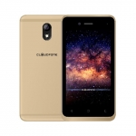 The Cloudfone GO Connect Lite 2 smartphone in gold.