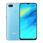 The Realme 2 Pro smartphone in ice lake color.