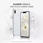 Huawei Nova 3i to be Available in Pearl White Color with FREE Outdoor Speaker
