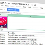 Leaked! Best Deals on Lazada 11.11 SALE 2018