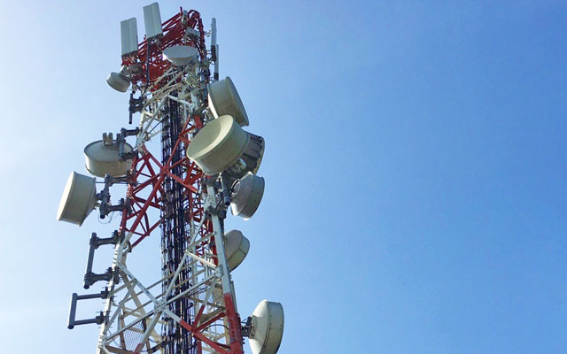 A Smart Communications cell site.