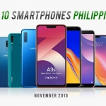 PTG's Top 10 Smartphones in the Philippines for November 2018